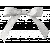 Cashmere & Cocoa Silver Bow