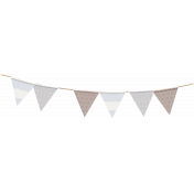 Cashmere & Cocoa Bunting