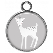 Cashmere & Cocoa Deer Charm