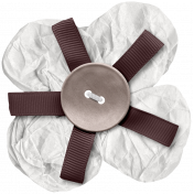 Cashmere & Cocoa Layered Flower