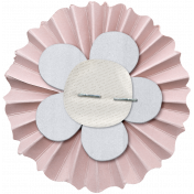 Cashmere & Cocoa Accordion Flower