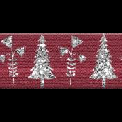 Cashmere & Cocoa Tree Ribbon