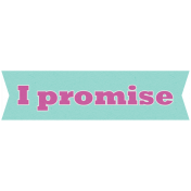 Earth Day I Promise Label