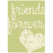 Friendship Day- Friends Forever Journal Card