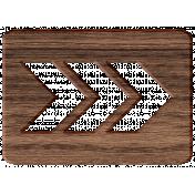 Friendship Day- Wooden Arrow Cutout