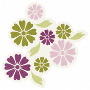 Friendship Day- Small Flower Sticker