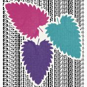 Better Together- Three Leaf Sticker