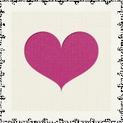 Better Together- Heart Stamp