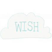 Time for the Fairies- Wish Cloud
