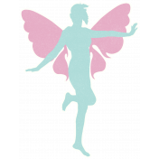 Time for the Fairies- Large Fairy Sticker