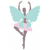 Time for the Fairies- Large Fairy Sticker 2