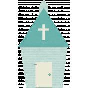 Shabby Wedding- Large Church