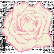 Shabby Wedding- Paper Flower Pink