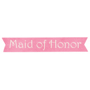 Shabby Wedding- Maid of Honor Label
