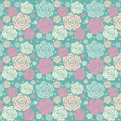 Shabby Wedding- Flowers Paper