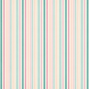Shabby Wedding- Stripes Paper