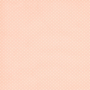 Shabby Wedding- Polka Dot Paper Peach