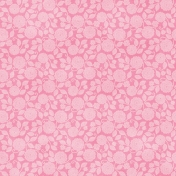 Shabby Wedding- Floral Pink Paper