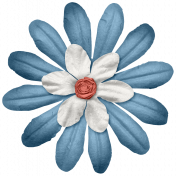 Hollister- Layered Flower