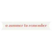 Hollister- Summer to Remember