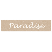 Hollister- Paradise Word Bit