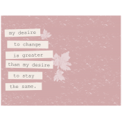 Changes- Journal Card 2