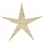 Classic Christmas- Large Paper Star