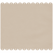 Classic Christmas- Scalloped Paper 6