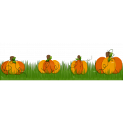 Pumpkin Patch Page Border