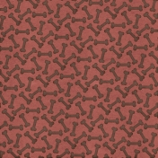 Shelter Pet Paw Print Paper Mauve And Brown