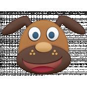 Shelter Pet Brown Dog Element