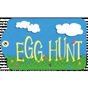 Easter Egg Hunt Tag Element