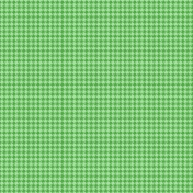 Easter Paper Green Houndstooth
