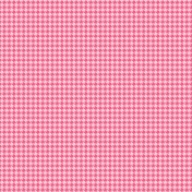 Easter Paper Pink Houndstooth
