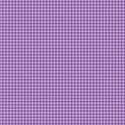 Easter Paper Purple Houndstooth