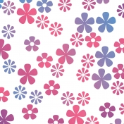 Easter Bright Floral Paper