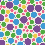 Easter Bright Circles Paper