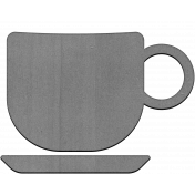Chipboard Grayscale Mug