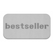 Bestseller Grayscale Chipboard Label