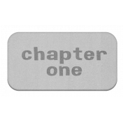 Chapter One Chipboard Label