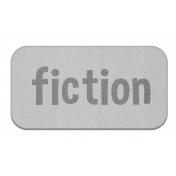 Fiction Grayscale Chipboard Label