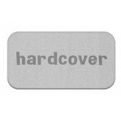 Hardcover Grayscale Chipboard Label