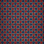 Treasured- Red & Blue Argyle Paper