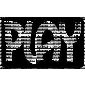 Pet Rectangle Cut File- Play