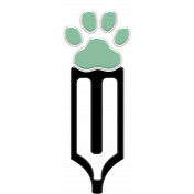 You Can't Buy Love But You Can Rescue It- Paw Print Clip