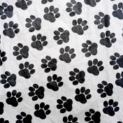 You Can't Buy Love But You Can Rescue It- Paw Print Paper 2