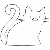 Oh Kitty Kitty- Kitty 5 Doodle