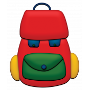 Back To School- Backpack Element
