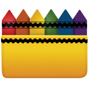 Back To School - Crayon Box Element