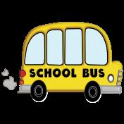 Back To School- School Bus Element